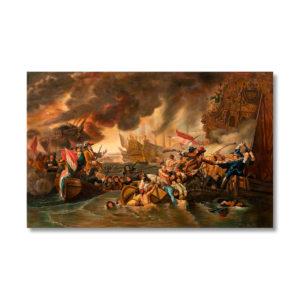 Бенджамин Уэст - Сражение при Ла-Хог
