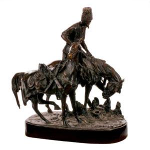 Бронзовая скульптура Евгения Александровича Лансере