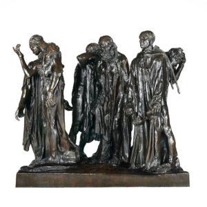 Скульптура «Граждане Кале» - Огюст Роден