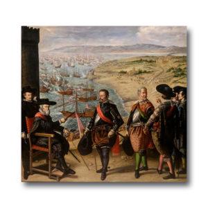 Франсиско де Сурбаран - Защита Кадиса от англичан