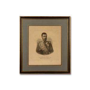 Портрет цесаревича Николая Александровича