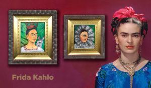 Подлинные Уникальные автопортреты Фриды Кало