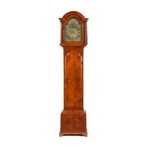 Длинные часы из орехового дерева (стиль George II)