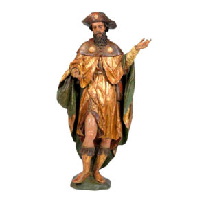 Большая резная фигура Святого Иакова