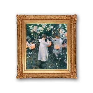 Копия картины Джона Сингера Сарджента - Гвоздика, Лилия, Лилия, Роза
