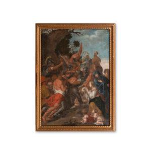 Сальватор Фернандес - Встреча святой Вероники и Христа на пути несения креста