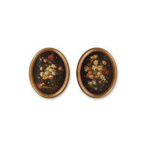 Ванье - Натюрморт. Цветы и фрукты на столе